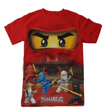 Camiseta Infantil Ninjago Kai