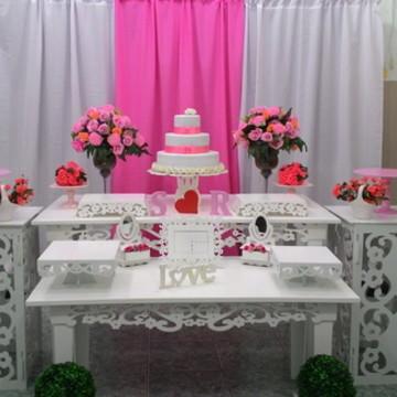 Locacao decoracao rosa