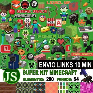 Kit Digital Scrapbook MInecraft +++