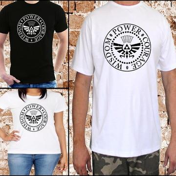Camiseta Zelda - TriForce