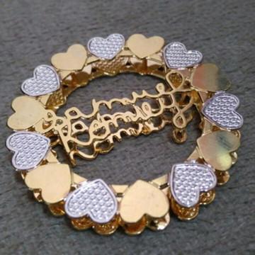 Mandala personalizada nome+corações