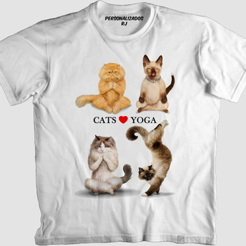 Camisa CATS LOVE YOGA