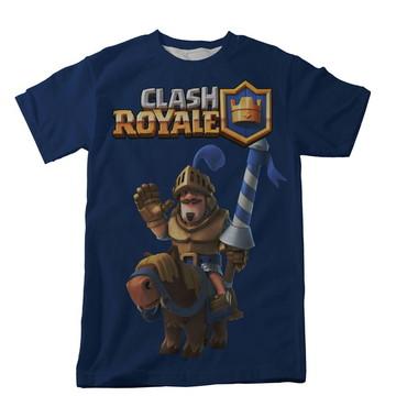 Camiseta Clash Royale Azul