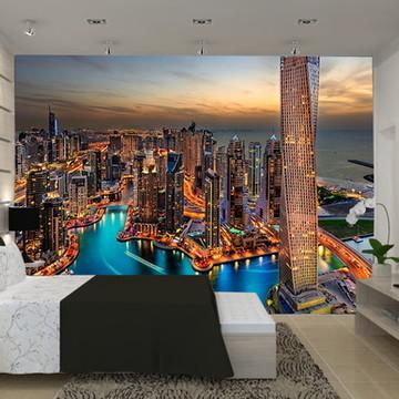 Painel adesivo Cidade Dubai
