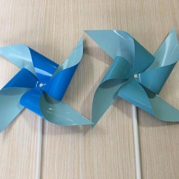 Kit de cata-ventos azuis