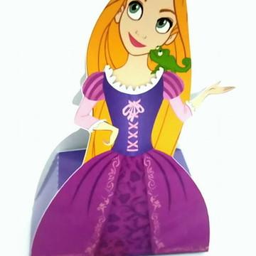 Caixa Vestido - Rapunzel/Enrolados