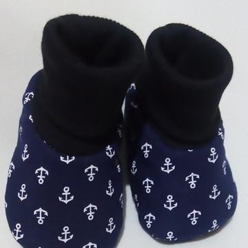Sapatinho meia de bebê