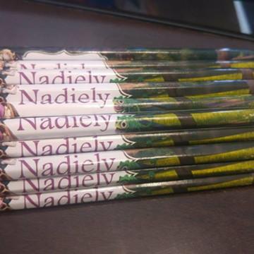 Lápis de cor Enrolados