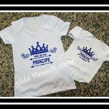 Camisetas Estampadas tema Príncipe