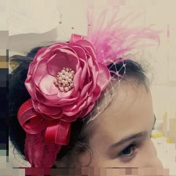 faixa pink pluma
