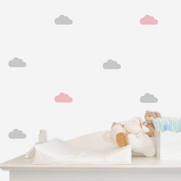 Adesivo mini nuvens