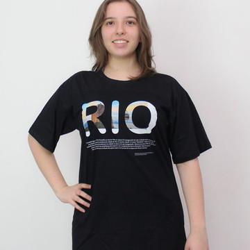 Camiseta Rio de Janeiro bondinho