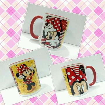 Caneca colorida Disney Minnie