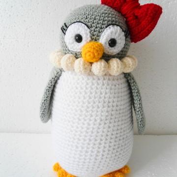 Amigurumi Pinguim Mãe (Penguim Gurumi)