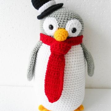Amigurumi Pinguim Pai (Penguim Gurumi)