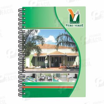 Caderno Personalizado Corporativo Exclusivo Para Empresas