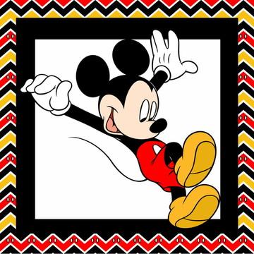 Quadros Mickey - mdf