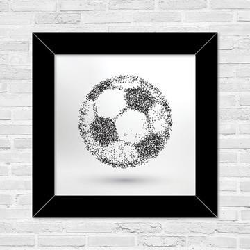 Quadro Bola de Futebol