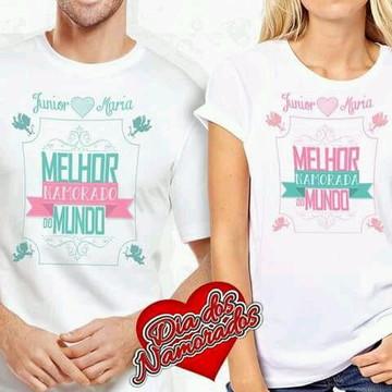 Camisetas casal -Senhor e Senhora