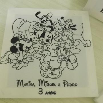Kit Tela de Pintura Turma do Mickey