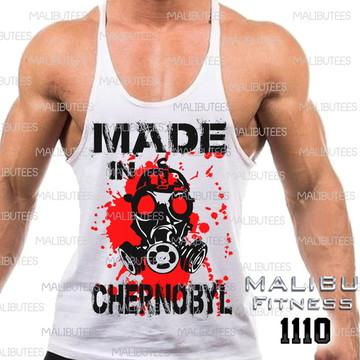 ef80dfb4f8 Camiseta Masculina Academia Chernobyl 2