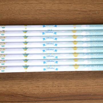 Lápis personalizado tema balões