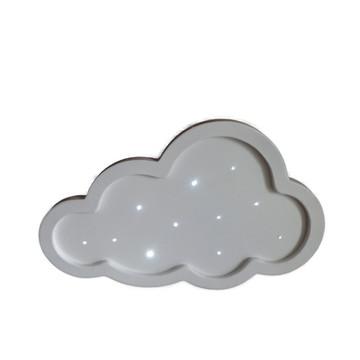 Luminoso Nuvem Em MDF