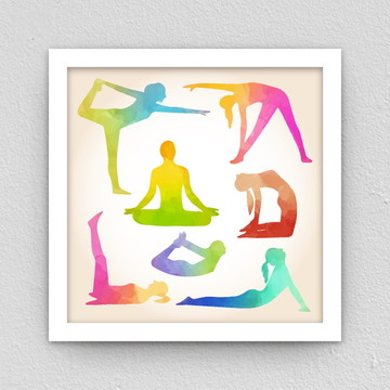 Quadro: Yoga