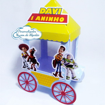 Carrinho de pipoca - Toy Story