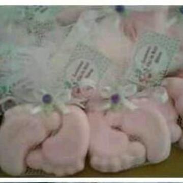 Mini sabonetes pesinhos