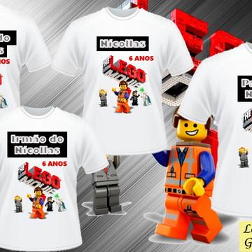 CAMISETA ANIVERSARIO DA LEGO C/4
