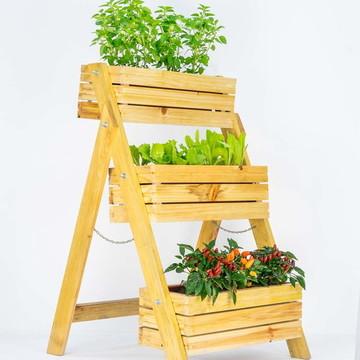 Horta Vertical Escadinha - Floreira