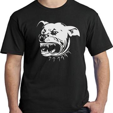 camisetas cachorro Pitbull