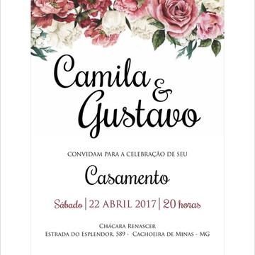 Convite Casamento Express 09