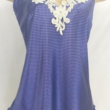 8d725335eb Blusa camiseta feminina renda em cetim