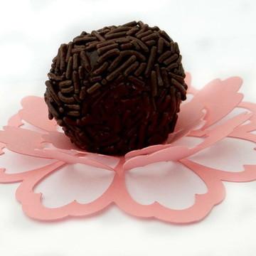 Forma doce Flor simples