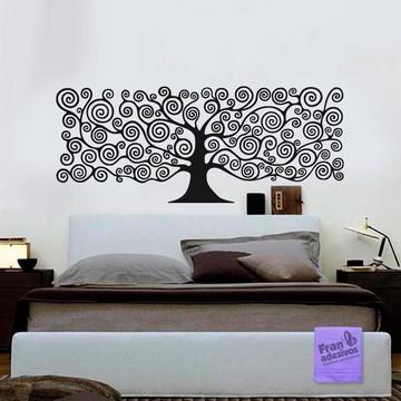 Adesivo Cabeceira Árvore - Gi 243x98cm