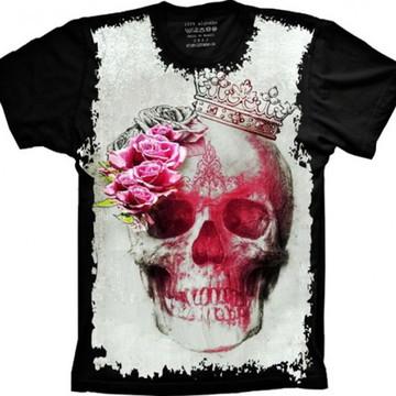 Camiseta Caveira Queen