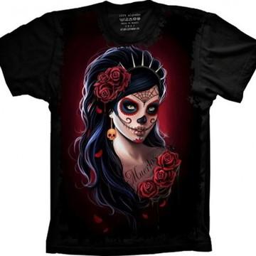 Camiseta Caveira Mexicana 1