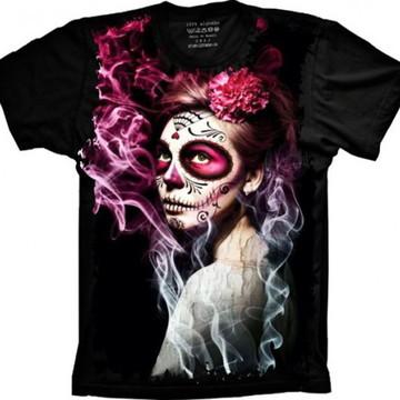 Camiseta Caveira Mexicana 2