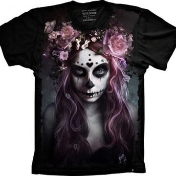 Camiseta Caveira Mexicana 3