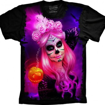 Camiseta Caveira Mexicana 5