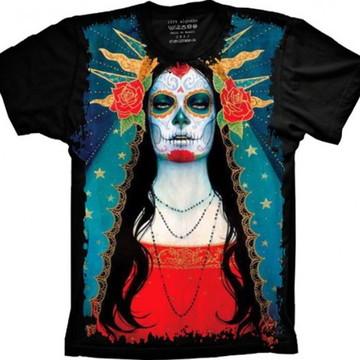 Camiseta Caveira Mexicana 6