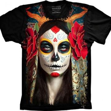 Camiseta Caveira Mexicana 7