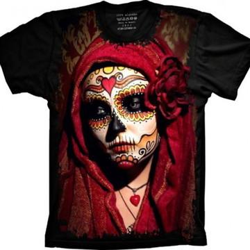 Camiseta Caveira Mexicana 8