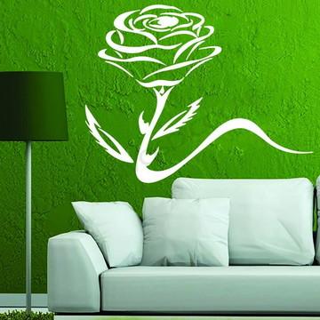 Adesivo - FLORAL - Broto de Rosa