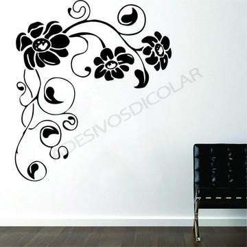 Adesivo - FLORAL - Flores de Canto