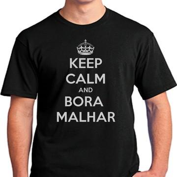 Camisetas Keep Calm Bora Malhar