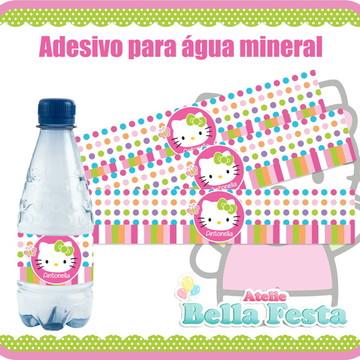 Adesivo para água mineral