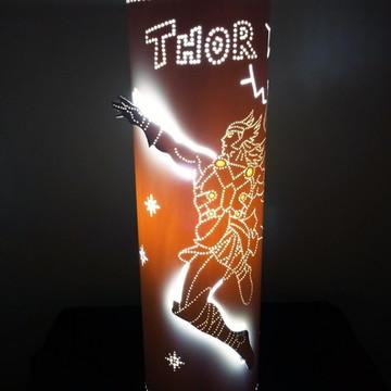 Luminária de PVC Thor